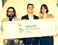 """KAUSA-Medienpreis für Reportage """"Die Kämpferin"""""""