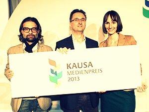 Kathrin Runge erhält Kausa Medienpreis 2013
