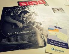 """Georg-Schreiber-Preis für Reportage """"Ein Herzenswunsch"""""""